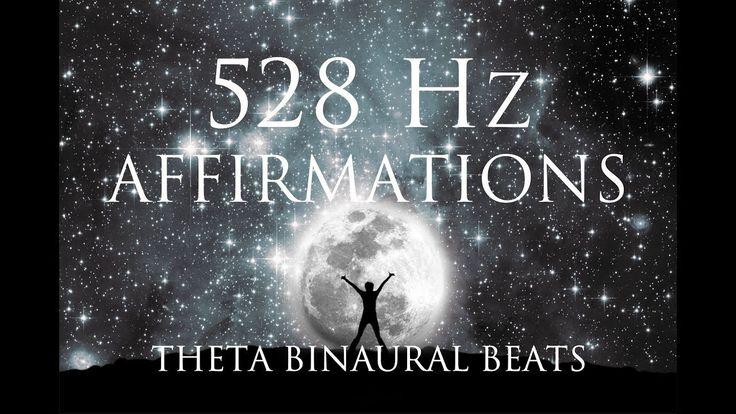 528 Hz Affirmations: Inner Power, Purpose, Self Love, Inner Peace & Happ...