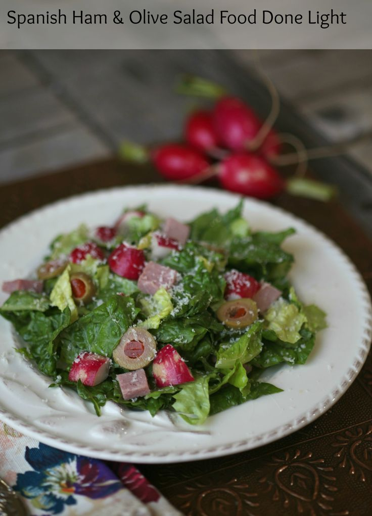 Spanish Salad with Ham and Olives with Sherry Vinaigrette is a favorite salad of mine. It is a copy cat of the 1905 salad at the Columbia restaurant. Let's take a trip to Spain with this Spanish Sa...