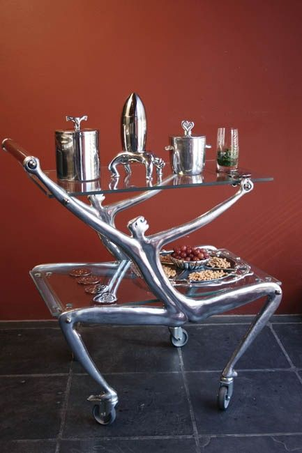 Carrol Boyes Drinks Trolley - Man