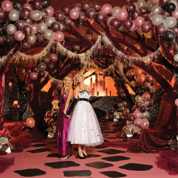 Enchanted Night Theme Prom Dresses