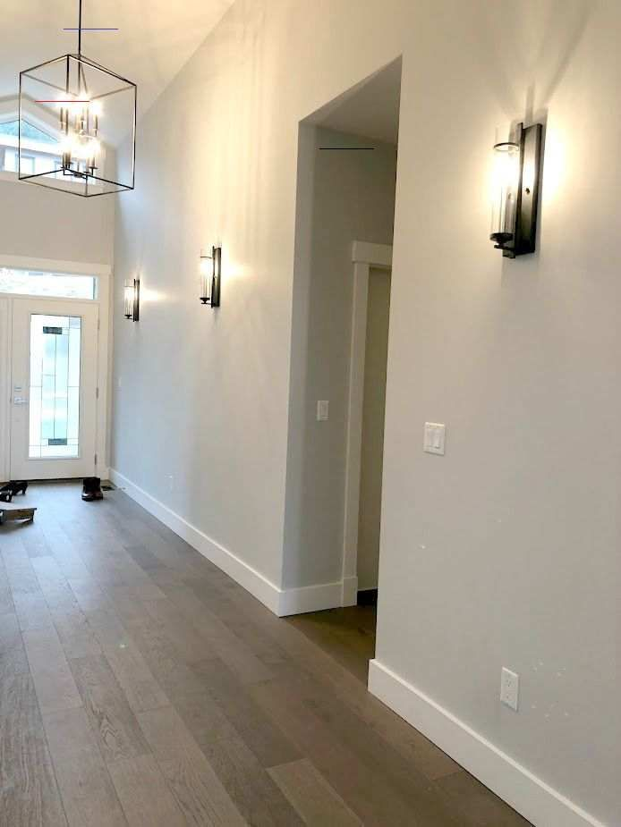 Our Entryway Sherwin Williams Collonade Gray Livingroompaintcolorideas Our New House Starting En 2020 Amenagement Interieur Maison Deco Maison Idee Deco Couloir