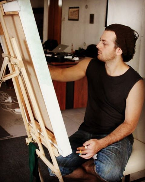 Artwork in studio 2012   #artist #artwork #fineart #draw #drawing #artdrawing #artofdrawing #resim #ressam #serdarabay #serdar_abay #artstudio #studio