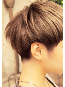 【+~ing】 *【透け感あるベリーショートVol,2】t - 24時間いつでもWEB予約OK!ヘアスタイル10万点以上掲載!お気に入りの髪型、人気のヘアスタイルを探すならKirei Style[キレイスタイル]で。