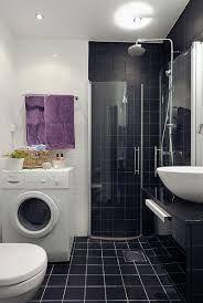 Image result for black white shower room designs