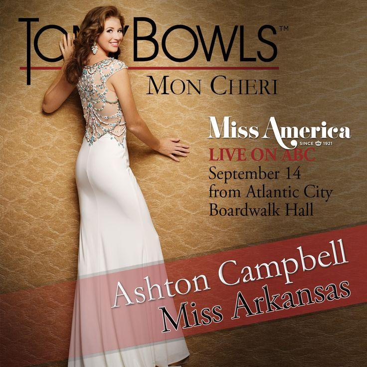 Miss Arkansas 2014 Ashton Campbell   http://www.missamerica.org/competition-info/national-contestants.aspx?state=Arkansas&year=2015&GO=GO!