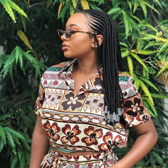 7 seems to be de cornrows extremely tendance à essayer ! – Ma Coiffeuse Afro