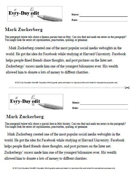 best editing marks ideas international language education world every day edit mark zuckerberg