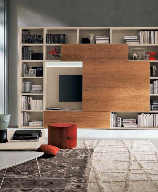 Monad mobilia | Gruppo Tomasella - italský nábytek - obývací prostor