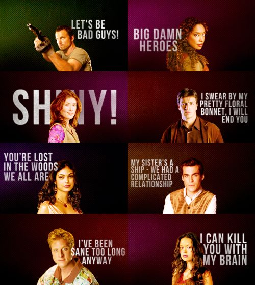Serenity Movie Quotes: 17 Best Firefly Quotes On Pinterest