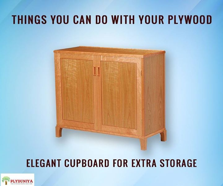 Another idea for your plywood usage. You can always make a cupboard with the plywood of your choice.   #plyduniya #plywood #bangalore - http://ift.tt/1HQJd81