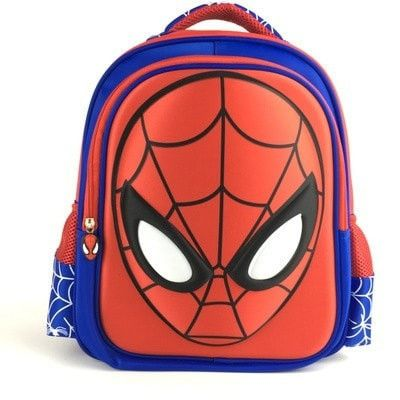 Super Cool Spiderman Character High-Quality Nylon Multifunctional Backpack 4 Colors 3 Sizes