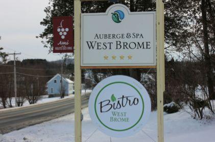 Article sur l'Auberge & Spa West Brome.