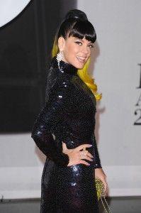 Lily Allen - BRIT Awards 2014 - Krasse Haare