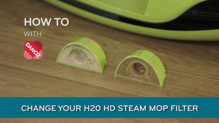 How To Change your H20 HD Steam Mop Water Filter! #danoz #danozdirect #howto #H20HD