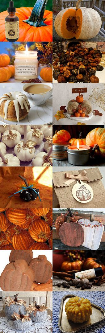 Everything Pumpkin on Flashback Thursday by Colleen Cornelius on Etsy--Pinned with TreasuryPin.com