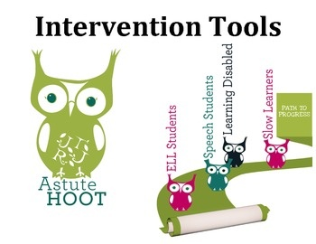 This Intervention Toolbox has everything you need to design and implement academic and behavioral interventions.  This is great for special educati...