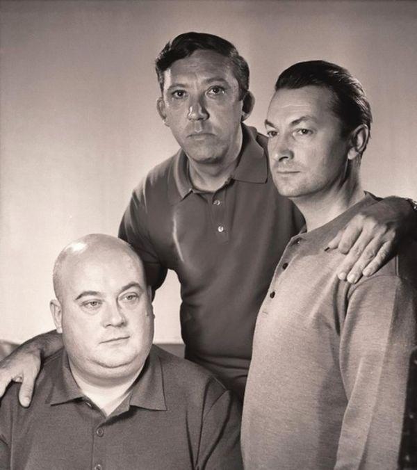 Юрий Никулин, Георгий Вицин и Евгений Моргунов, 1962 год