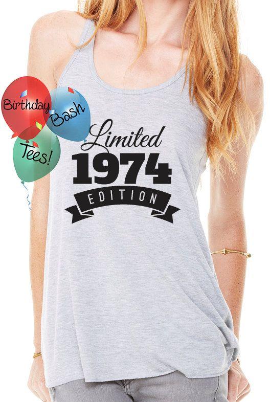 Birthday Gift Ideas for Girlfriend 1974 by BirthdayBashTees