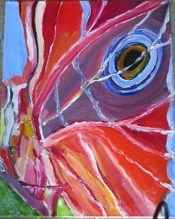 Artbykcp     Kelly (tilly)  Perry: Kelly's Art for the week. Particle Wings of a Moth   Acrylic Medium