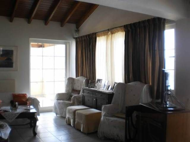 For Sale Villa, Achilleio, Agios Gordios, 430 sq.m., In plot 2100 sq.m., 8 Bedrooms, 8 Bathrooms, 1 Κitchen/s,  1 Fireplace, Floors: Tiles, Dours: Wooden, B...