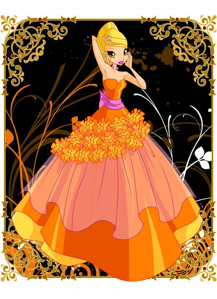 Flower Princess Stella by Bloom2.deviantart.com on @DeviantArt
