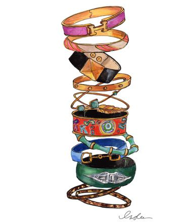 bangles print | by inslee: Insle Haynes, Sketch, Arm Candy, Insl Haynes, Style, Bracelets, Bangles, Arm Parties, Fashion Illustrations