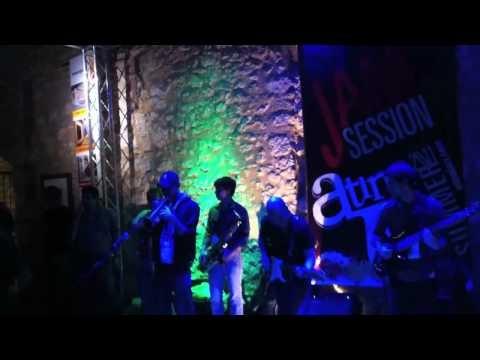 """Superstition"" (Stevie Wonder) - Atina Jazz Festival (Italy) Jam Session July/11  Andrew Kesler: Keys"