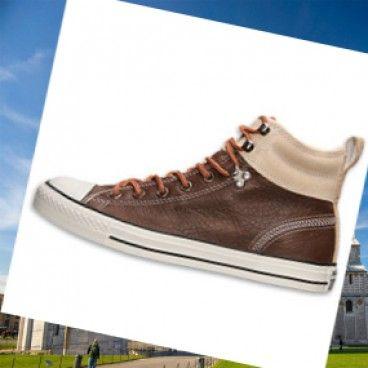 Italia Uomini Converse Chuck Taylor All-Star Hiker 2 scarpe casual - Marrone di plastica sul ammortizzazione reattiva