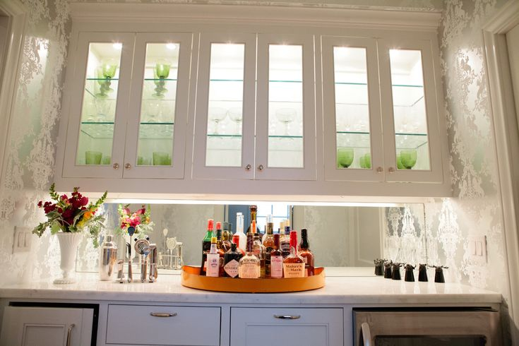 Best 60 Beautiful Butlers Pantries Images On Pinterest