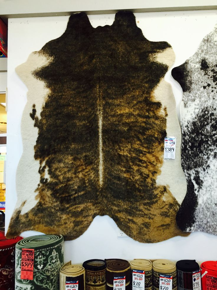 Find new #cowhide #rugs at the best prices. #Melbourne #Sale #Autumn