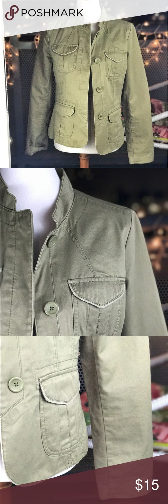 •HUGE CLEARANCE•Old navy olive jacket Olive color ! True to size Old Navy Jackets & Coats Blazers