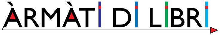àrmàti di libri iniziativa di LeggereperLeggere. Logo di Oreste Sabadin
