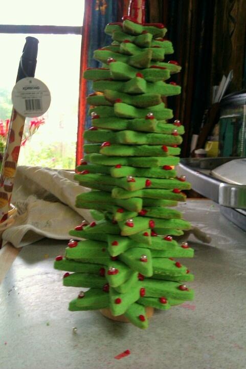 Cookie Xmas tree