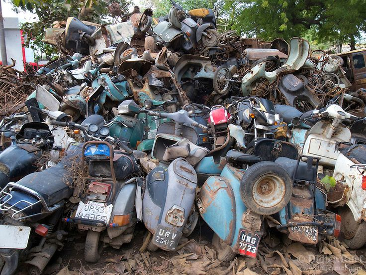 Scooter Scrap Yard