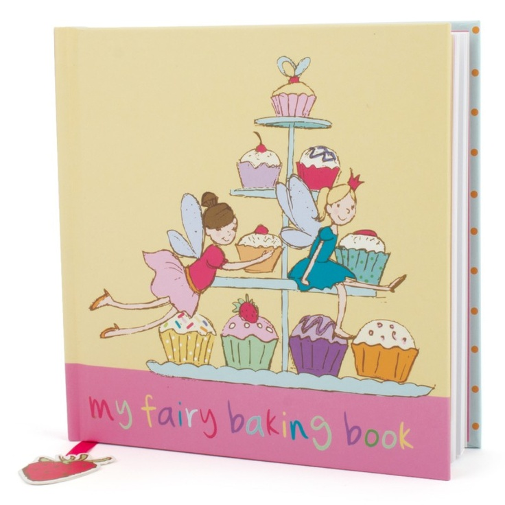 Think Pink My fairy baking book #backtoschool