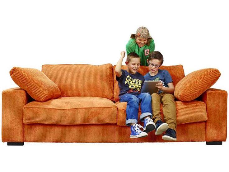 ribfluwelen plofbank voor gameroom Larina bankstel euri 700) www.lowikmeubelen.nl