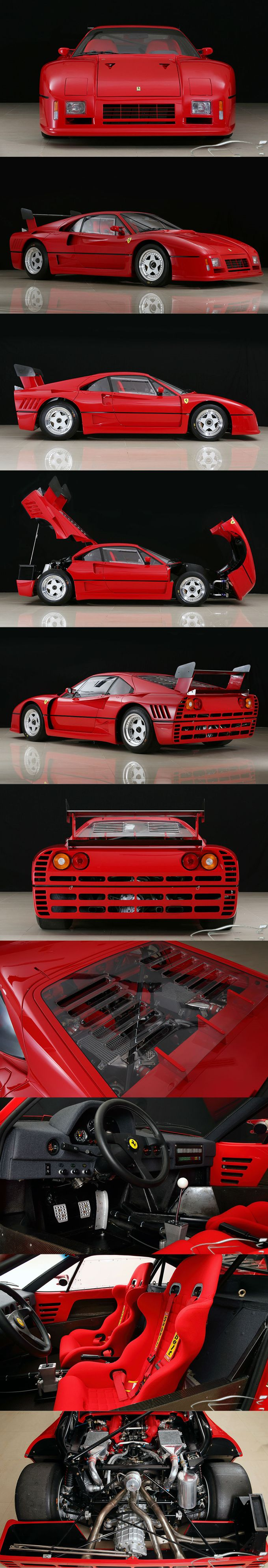 1986 Ferrari 288 GTO Evoluzione / 5pcs / 650hp / competition / Italy / red