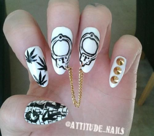 dopeness this fresh should be LEGALIZED bad ass dope nail porn