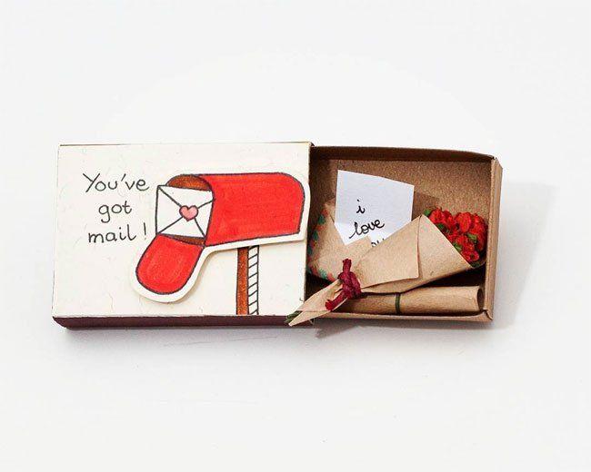 Creative Match Box #Paper #Crafts #Love