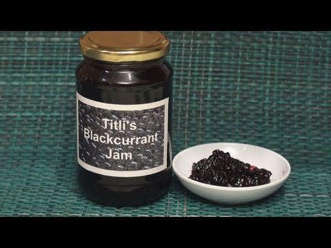 Blackcurrant Jam:  Super easy!!!
