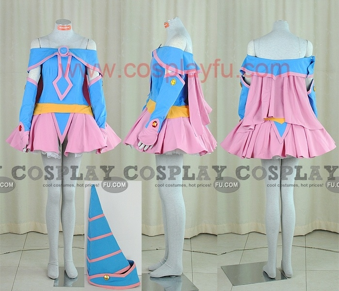 Dark Magician Cosplay from Yu Gi Oh - Tailor-Made Cosplay Costume