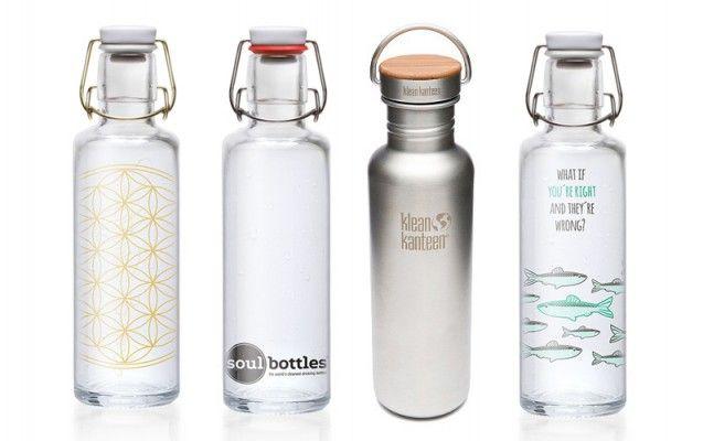 Trinkflaschen für unterwegs: am besten aus Edelstahl oder Glas   Utopia.de