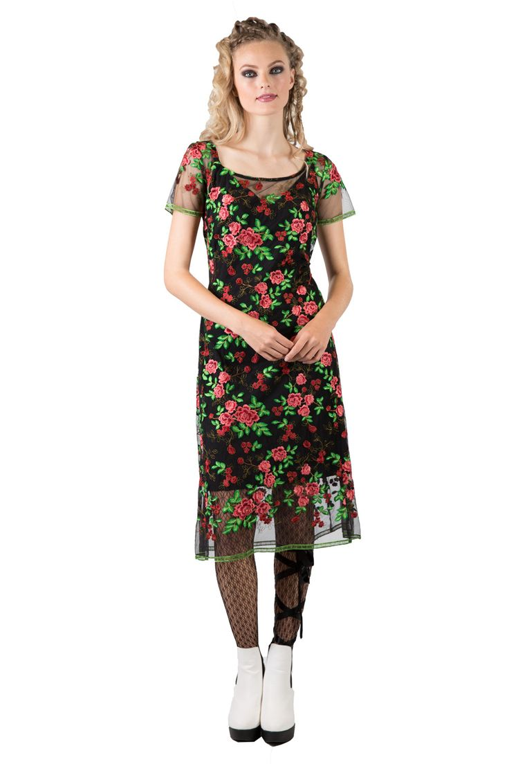 Gale Aster Dress | Sheer Floral Dresses | Occasion Wear | Annah Stretton