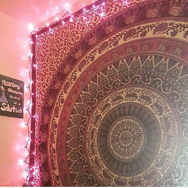 ... tapestry   Hippie Boho Home Decor   Pinterest   Tapestries and Lights