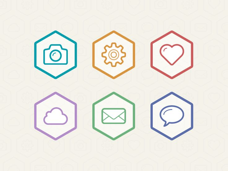 Flat Icons / Flat Design / Icons Design / Icons / Pictograms / #flat