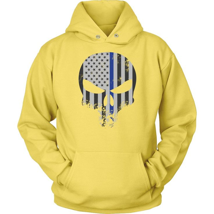 Threadrock Honor & Respect Skullcap Unisex Hoodie T Shirt - TL00636HO