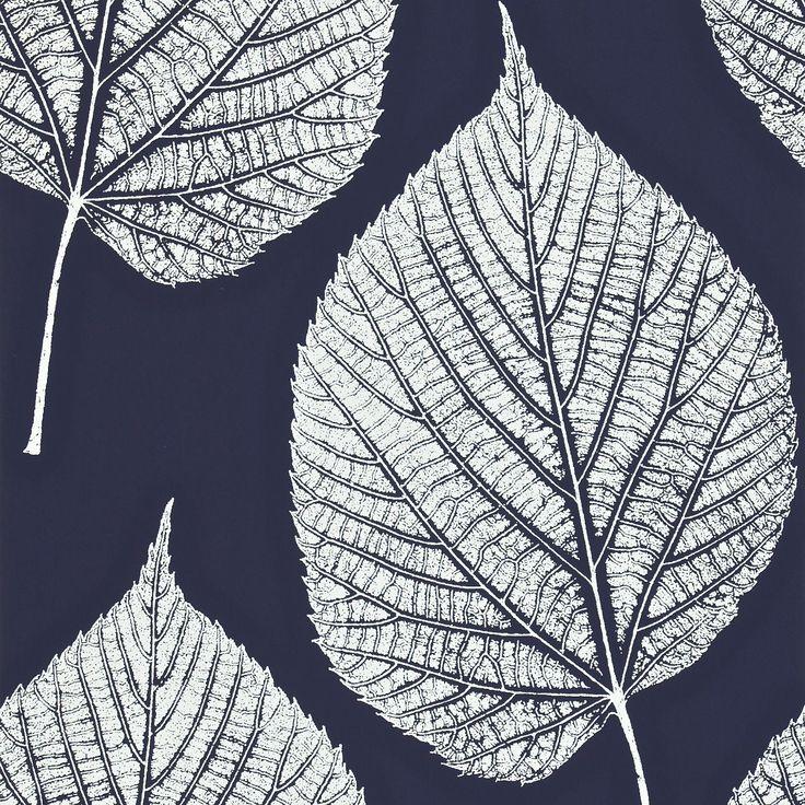 Harlequin -Leaf.   Details of Fabrics and Wallcovering designs