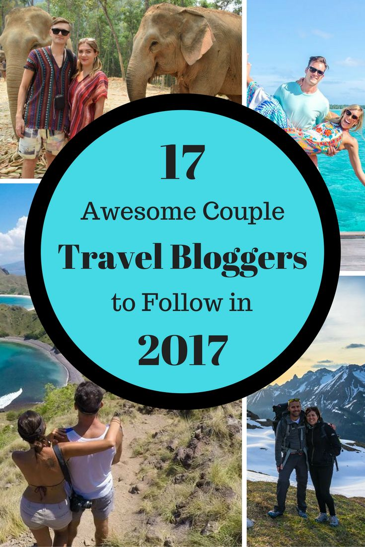 With the start of the new year and the launch of our new couples blog we wanted to celebrate those couple travel bloggers that have inspired us
