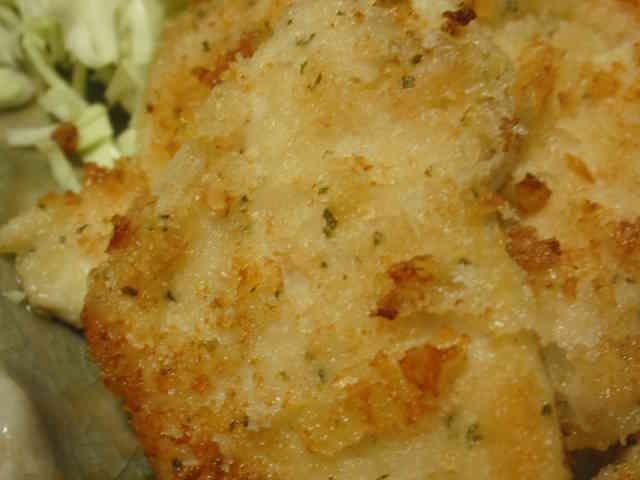 胸肉のガーリックマヨ・パン粉焼きの画像
