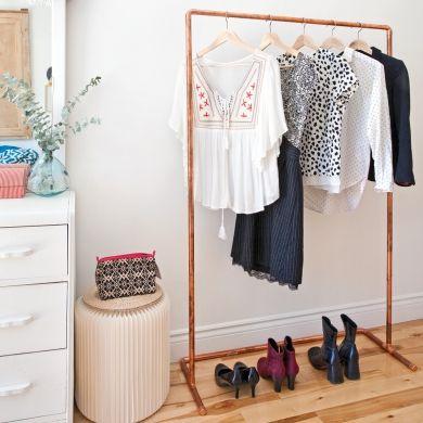 En étapes: un porte-vêtements brillant - En étapes - Décoration et rénovation - Pratico Pratique